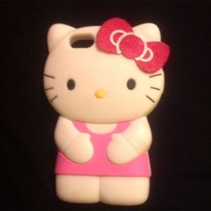 FINAL OFFER 🌺 HELLO KITTY CASE FOR IPHONE 5 & 5S